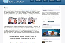 Local Church Bible Publishers
